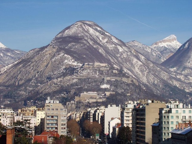 Grenoble from up
